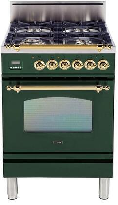 Ilve Nostalgie UPN60DVGGVS Freestanding Gas Range , Main Image