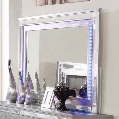 Furniture of America Brachium CM7977SVM Mirror Silver, Mirror