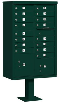 Salsbury Industries 3316GRNP Commercial Mailboxes, Main Image