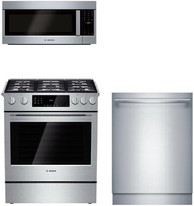 Bosch Benchmark  903889 Kitchen Appliance Package Stainless Steel, 1