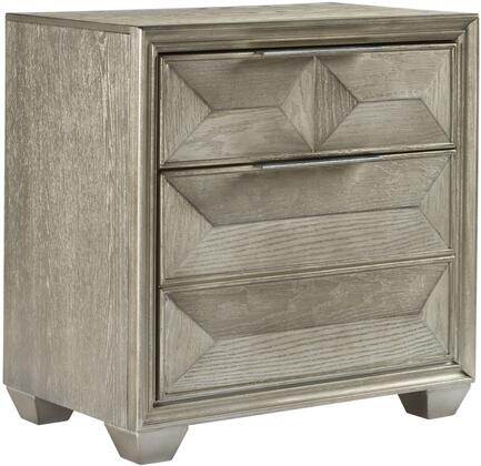 Global Furniture USA Global Furniture USA SOHOSILVERNS Nightstand Silver, products global furniture color soho  1131074325 soho silver ns b5