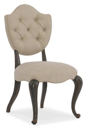 Arabella Collection 1610-35002-GRY Upholstered Side
