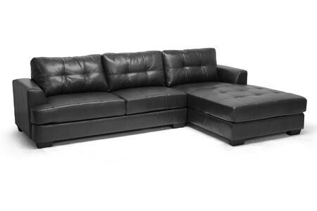 Wholesale Interiors IDS070LTSECBLACK Sectional Sofa, IDS070LT SEC RFC%20Black