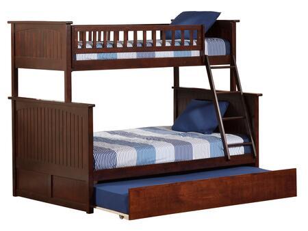 Atlantic Furniture Nantucket AB59254 Bed Brown, AB59254 SILO TR2 30