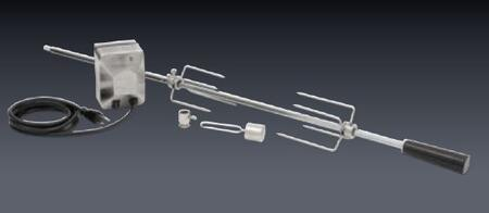 DSRS40KIT Rotisserie Kit with Stainless Steel Motor  Spit Rod  and Rotisserie 687089