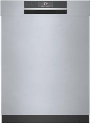 Bosch Benchmark Benchmark SHE88PZ65N Built-In Dishwasher Stainless Steel, Front View