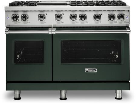 Viking 5 Series VGR5486GBFLP Freestanding Gas Range Green, VGR5486GBFLP Gas Range