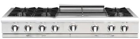 Capital Culinarian CGRT604GG2 Gas Cooktop Stainless Steel, Burner Configuration