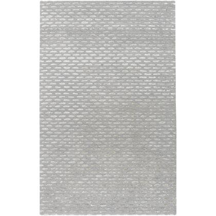 Atlantis ATL-6001 10′ x 14′ Rectangle Modern Rugs in Medium Gray