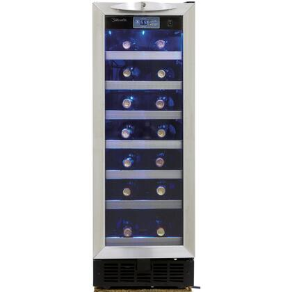 Danby Silhouette DWC276BLS Wine Cooler 26-50 Bottles Stainless Steel, Main Image