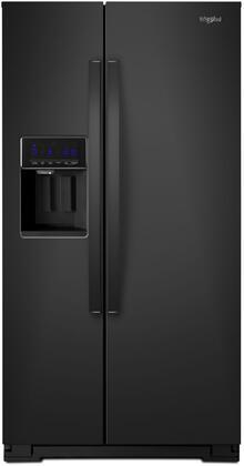 Whirlpool  WRS571CIHB Side-By-Side Refrigerator Black, Main Image