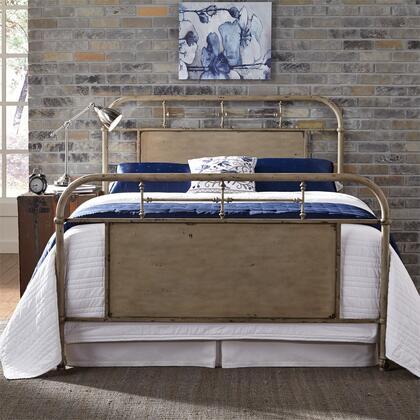 Liberty Furniture Vintage Series 179BR13HFRW Bed Beige, 179 br13hfr w