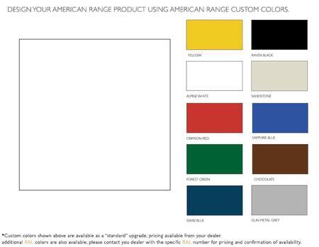 American Range  ARR60CKAW Color Option , 1
