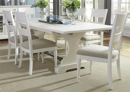 Liberty Furniture Harbor View II 631DR7TRS Dining Room Set White, Main Image