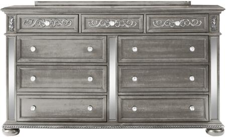 Global Furniture USA Global Furniture USA DIANASILVERDR Dresser Silver, products global furniture color diana  1131074325 diana silver dr b1