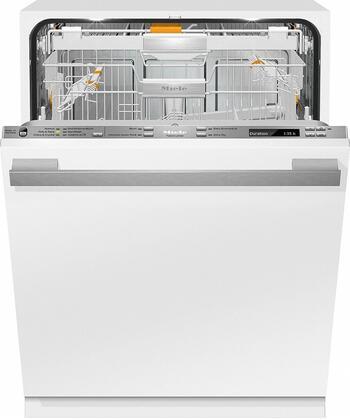 Miele Lumen G6875SCVI Built-In Dishwasher Panel Ready, G6875SCVI Fully-Integrated, Full-Size Dishwasher