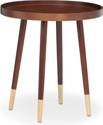 Acme Furniture Dein 81867 End Table Brown, 1