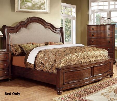 Furniture of America Bellavista CM7350CKBED Bed , 1