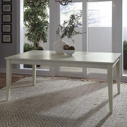 Liberty Furniture Summer Hills 518T4072 Dining Room Table White, Lifestyle