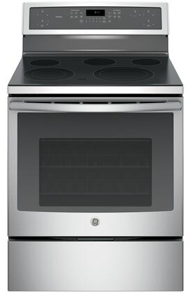 GE Profile PB911SJSS Freestanding Electric Range, Main View