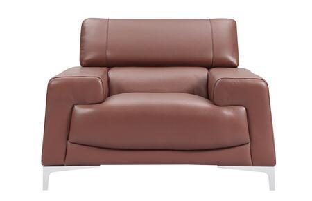 ESF  25371 Living Room Chair Brown, 25371