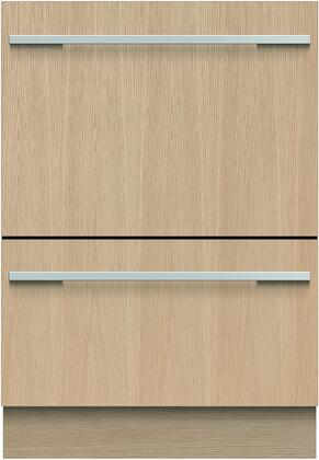 Fisher Paykel 9 Series DD24DHTI9N Built-In Dishwasher Panel Ready, Front View