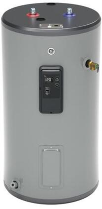 30S10BLM 30 Gallon Smart Electric Water Heater with Two 5500 Watts Heating Elements  Inlet Tube and Built-In WiFi in - GE GE30S10BLM