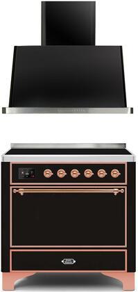 Ilve  1260146 Kitchen Appliance Package Black, Main image