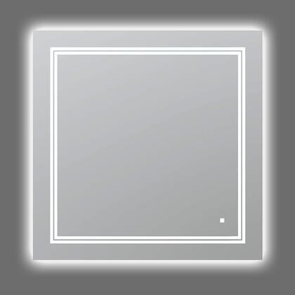 SOHO Collection S-3636 LED Lighted Mirror with Defogger  Dimmer and Light Control Touch Screen Buttons in