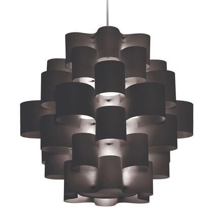 Dainolite ZUL3634PCBK Ceiling Light, DL 920ebf51ec37d21dda72f56b7f1c