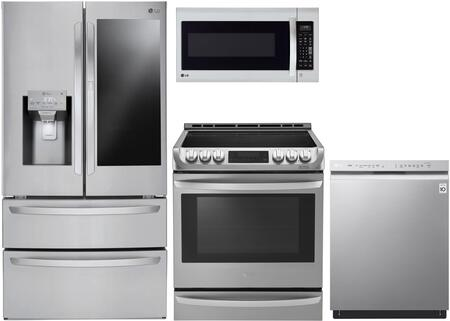 LG 1177942 Kitchen Appliance Package & Bundle Stainless Steel, main image