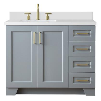 Ariel Taylor Q43SLBWQRGRY Sink Vanity Gray, q43slb wqr gry  nobgproductimage