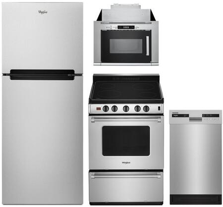 Whirlpool 1127419 Kitchen Appliance Package & Bundle Stainless Steel, Main image