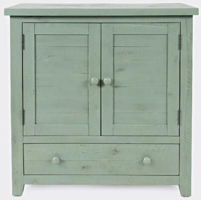 American Folklore Collection 1878-32  Accent Chest – Antique Sage in