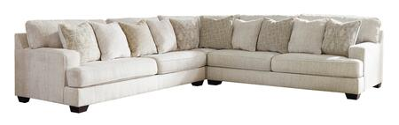 Signature Design by Ashley Rawcliffe 19604667767 Sectional Sofa Beige, 19604-66-77-67 Main