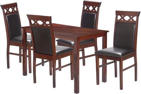 5400O Kitchen/Dining Table 5 Piece