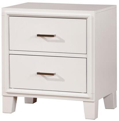 Furniture of America Enrico I CM7068WHN Nightstand White, 1