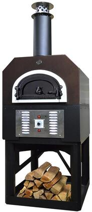 CBO-O-STD-750-HYB-LP-CV-R-3K 36″ CBO-750 Hybrid Residential Stand:  (Pre-Assembled) Custom-Built Heavy-Duty Stand with Metal Insulating Hood and Gas