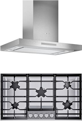 Thermador  1071238 Kitchen Appliance Package Stainless Steel, main image