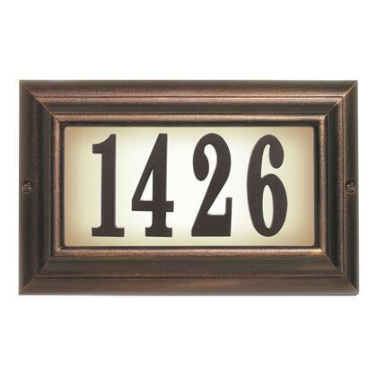 Qualarc Edgewood LTL1301AC Address Plaques, LTL 1301 AC