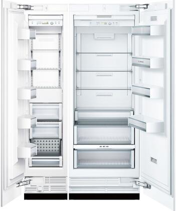 Bosch Benchmark  723704 Column Refrigerator & Freezer Set Panel Ready, Main Image