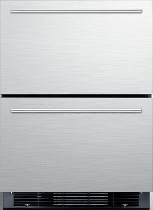 Summit  SPRF2D5 Drawer Refrigerator Stainless Steel, Main Image