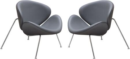 Roxy_Collection_ROXYCHGR2PK_Accent_Chairs_(Set_of_2)_with_Flared_Scoop_Seat__Chrome_Metal_Frame_and_Leatherette_Upholstery_in