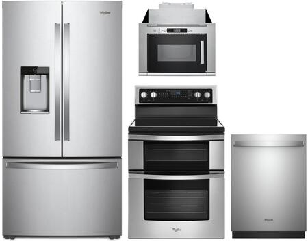 Whirlpool 1127468 Kitchen Appliance Package & Bundle Stainless Steel, Main image