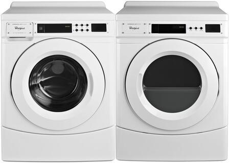 Whirlpool  963697 Washer & Dryer Set White, 1