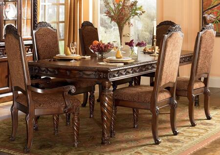 Millennium North Shore D5533502 Dining Room Set Brown, Main Image