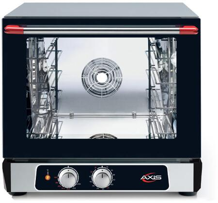 Axis  AX514 Commercial Convection Oven Black, AX-514 Half Size Convection Oven