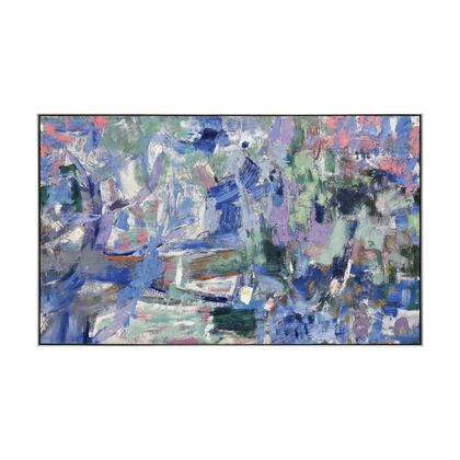 1219-068 Bimmer Wall Decor  In Blue And