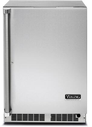 Viking 5 Series VRUO5240DRSS Compact Refrigerator Stainless Steel, Front view