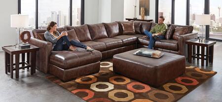 Jackson Furniture Tucker 439575305942115208125208 Sectional Sofa Black, Main Image